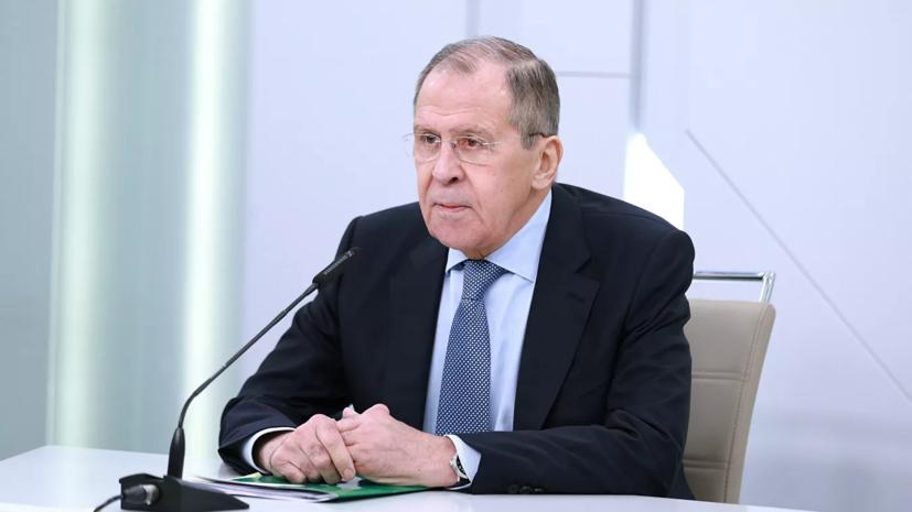 Лавров заявил, что Запад в ситуации с Навальным «перешёл все приличия»