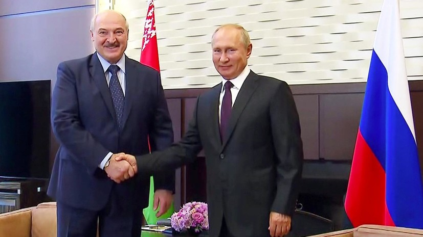 «Рассматриваем Беларусь как ближайшего союзника»: как прошли переговоры Путина и Лукашенко в Сочи