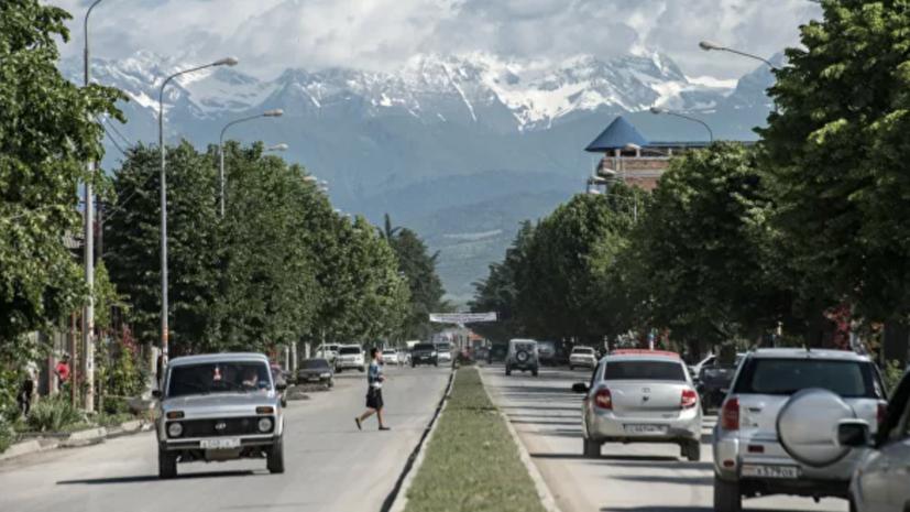 Южная Осетия открывает границу с Россией