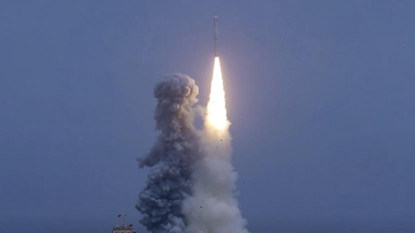 Китай успешно вывел на орбиту группировку из девяти спутников