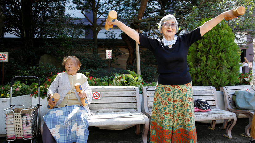 В Японии заявили о рекордном числе жителей в возрасте старше 100 лет