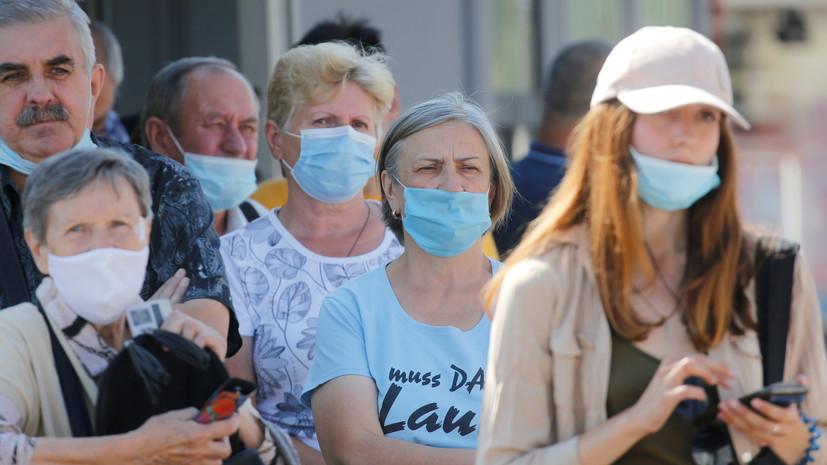 Число случаев коронавируса на Украине достигло 159 072