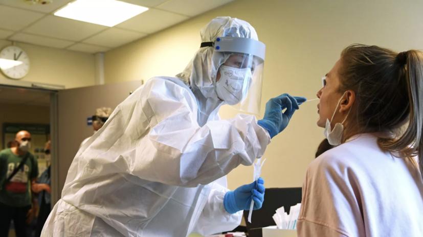 Более 41,1 млн тестов на коронавирус проведено в России