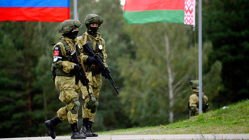 Российские военные прибыли в Белоруссию на совместные учения