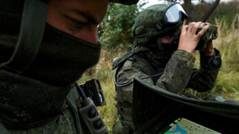 В Ленобласти прошли учения разведчиков ЗВО