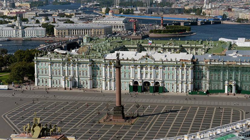 В Петербурге торжественно погасили почтовую марку в честь мемориала «Свеча памяти»