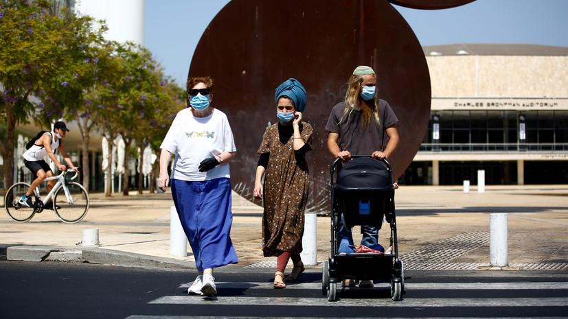 В Израиле за сутки выявили более 5 тысяч случаев коронавируса