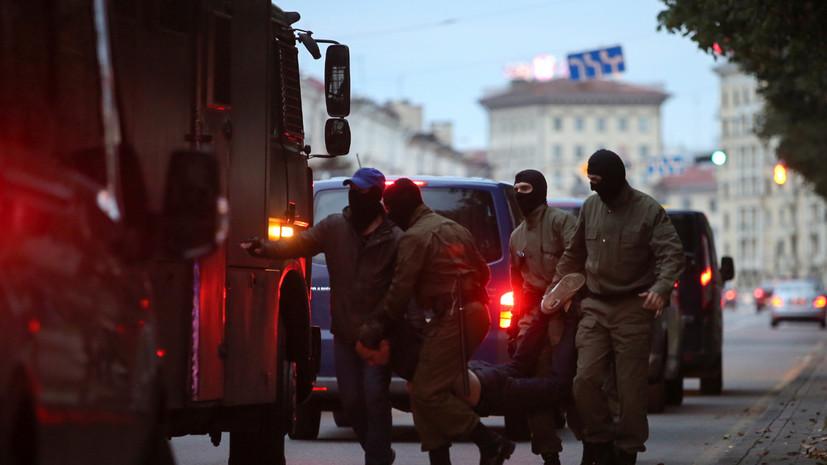 В Белоруссии заявили о задержании готовивших нападения на силовиков