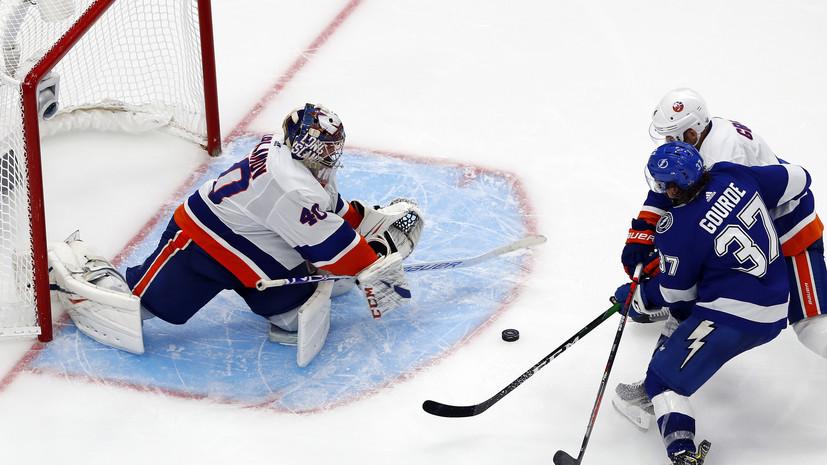 Варламов о победе над «Тампой» в матче плей-офф НХЛ: на кону стоял сезон «Айлендерс»