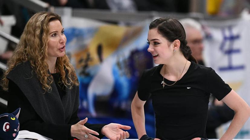 Лайшев заявил, что Медведева уже провела первую тренировку у Тутберидзе