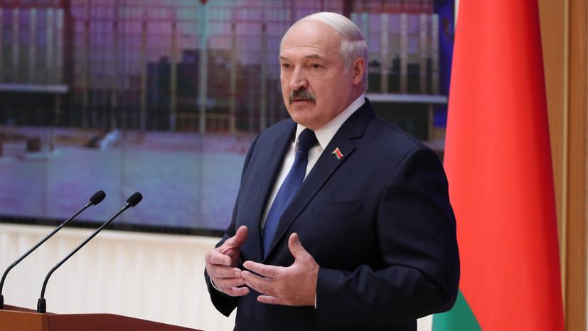 Лукашенко назвал Украину форпостом провокаций в Белоруссии