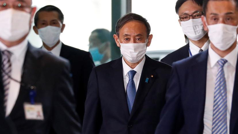 Новый премьер Японии намерен развивать отношения с Россией
