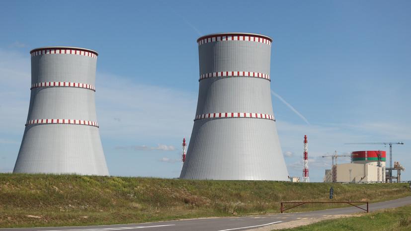 Запуск БелАЭС запланирован на 7 ноября