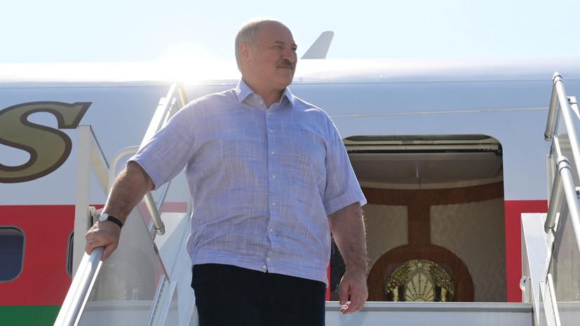 Лукашенко провёл встречу с Шойгу