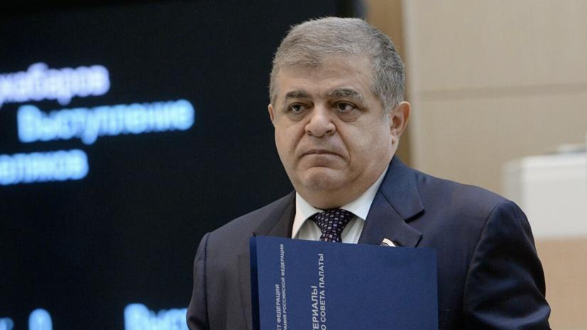Джабаров оценил заявление главы МИД ФРГ по ситуации в Белоруссии
