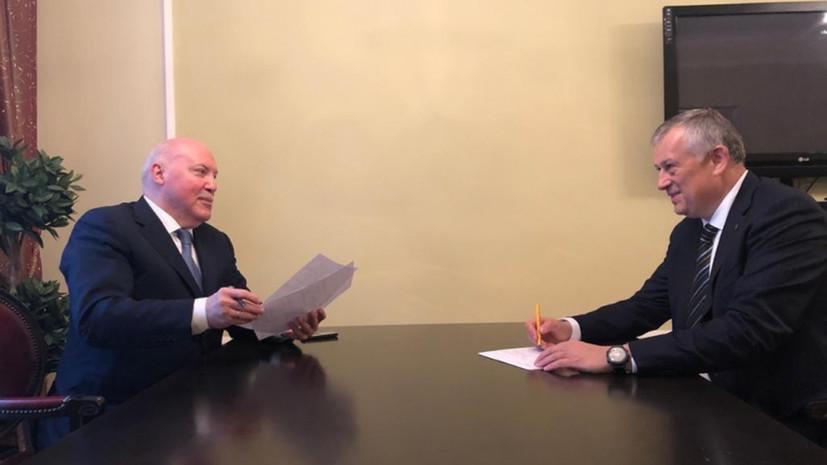 Ленинградская область и Белоруссия подпишут соглашение о сотрудничестве