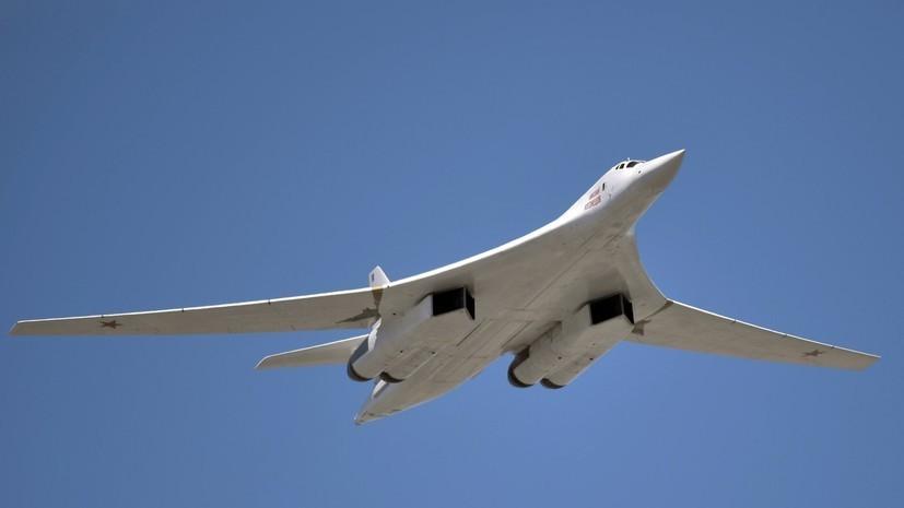 Два Ту-160 провели плановые полёты над Балтийским морем