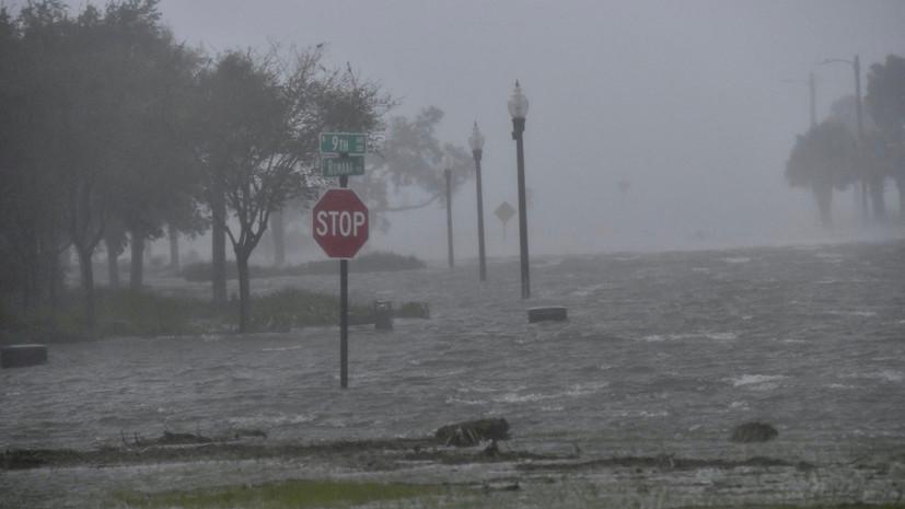 В США заявили о первой жертве урагана «Салли»