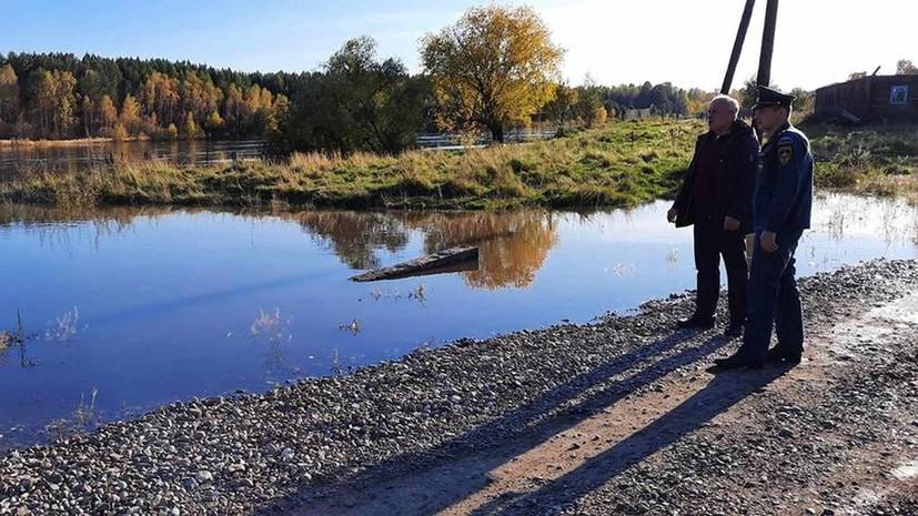 В Иркутской области 193 приусадебных участка оказались подтоплены из-за осадков