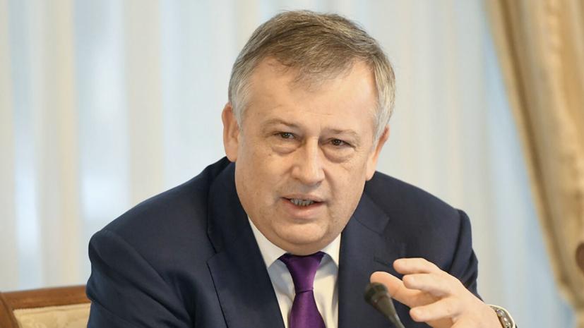 Дрозденко вступил в должность губернатора Ленинградской области