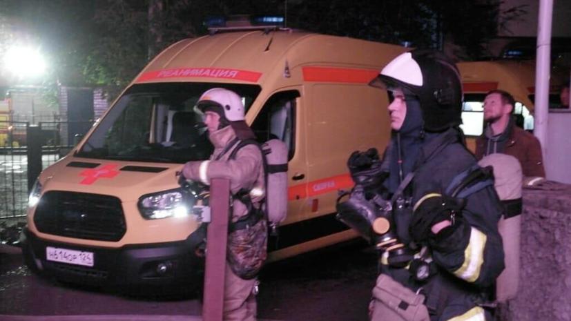 В Красноярском крае задержали подозреваемого в поджоге клиники