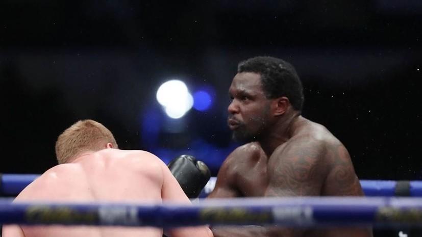 Цзю оценил шансы Поветкина на победу во втором бое с Уайтом