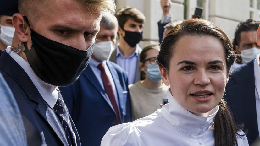 Тихановская примет участие в дискуссии по Белоруссии в СПЧ ООН