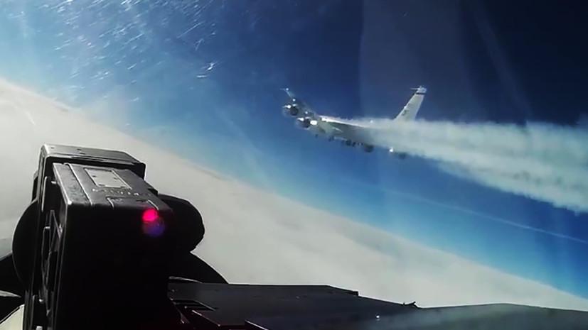 В Генштабе отметили активность иностранных самолётов у границ России