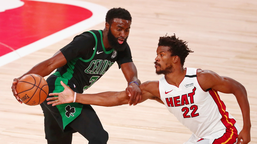 «Майами» увеличил преимущество в серии с «Бостоном» в финале Востока плей-офф НБА