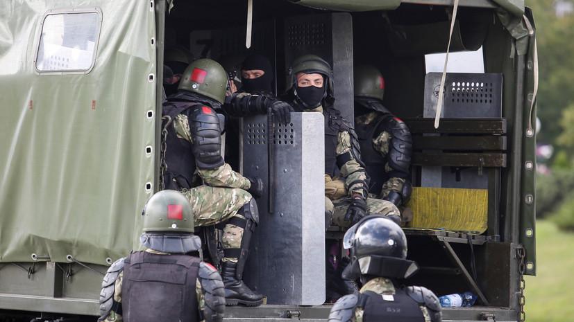 В Белоруссии сообщили об усиленном режиме охраны границы