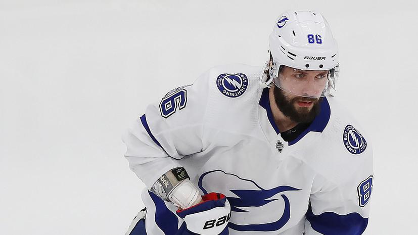 Кучеров вышел на девятое место среди россиян по очкам в плей-офф НХЛ