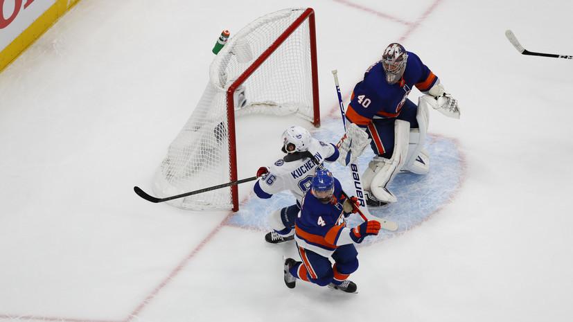 Кучеров повторил рекорд «Тампы» по очкам в одном плей-офф НХЛ