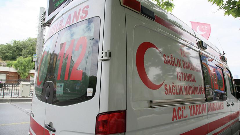 На юге Турции в аварию попал автобус с российскими туристами
