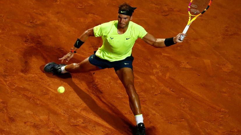 Надаль победил Лайовича и вышел в четвертьфинал турнира ATP в Риме