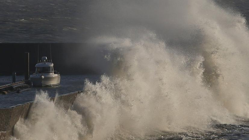 В Атлантическом океане образовался тропический шторм «Бета»