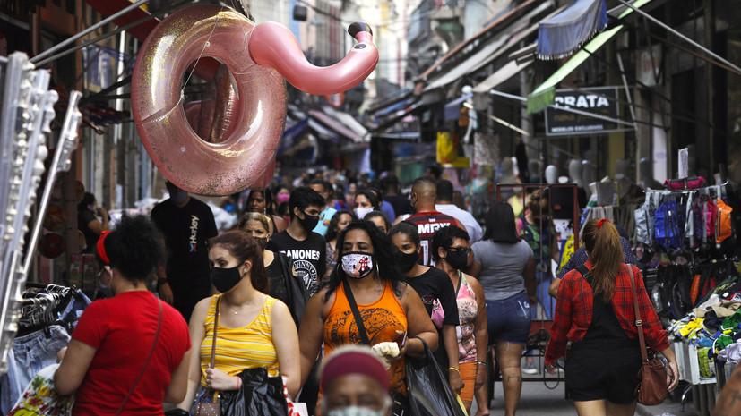 Число случаев заболевания коронавирусом в Бразилии достигло 4 495 183