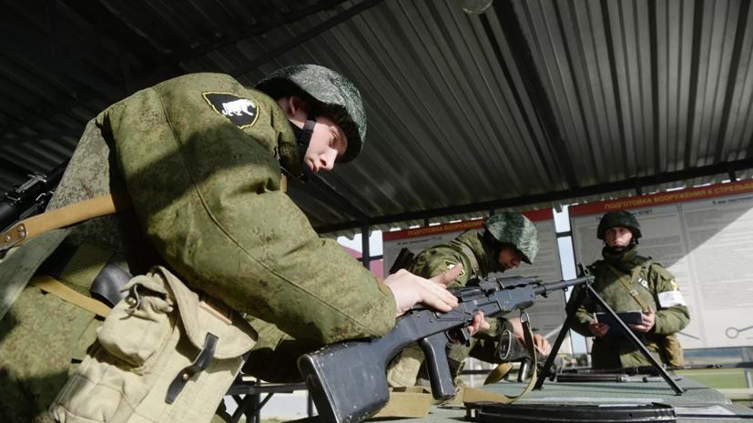 Борисов рассказал об оснащении российской армии современным оружием