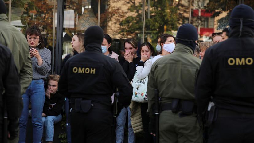 В Минске на акции протеста прошли задержания