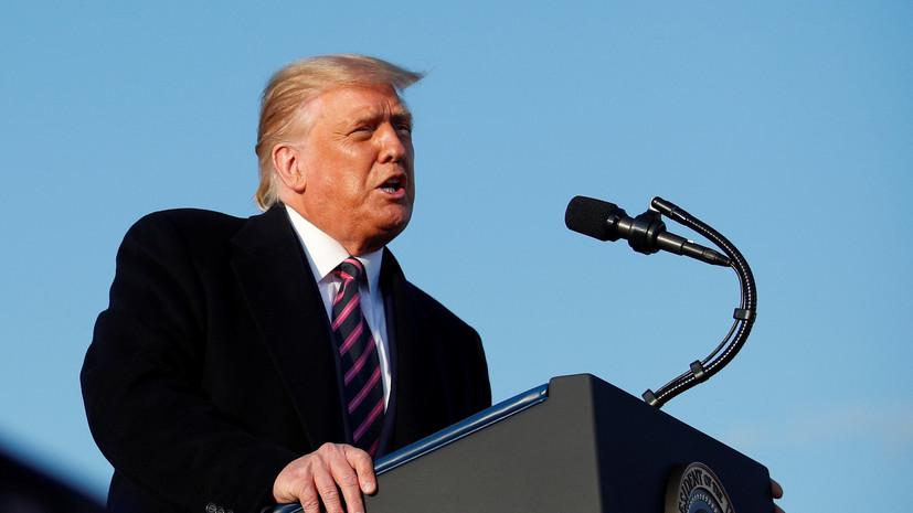 Трамп рассказал о скором открытии границы США с Канадой
