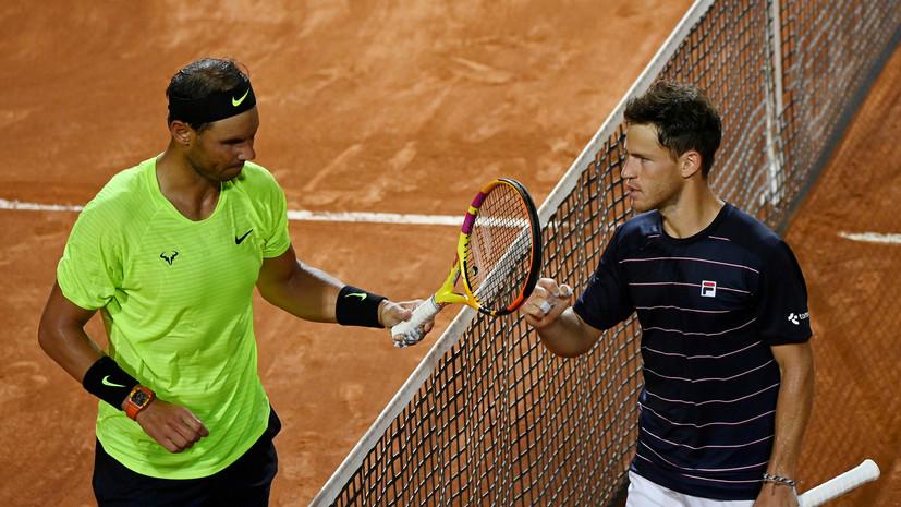 Надаль проиграл Шварцману в четвертьфинале турнира ATP в Риме