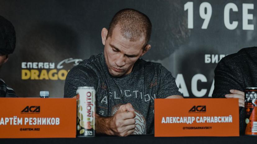 Сарнавский получил перелом руки в титульном бою с Абдулвахабовым на ACA 111