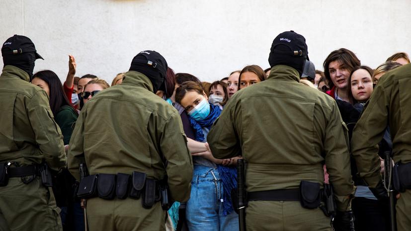 МВД Белоруссии сообщило о 430 задержанных на субботних акциях