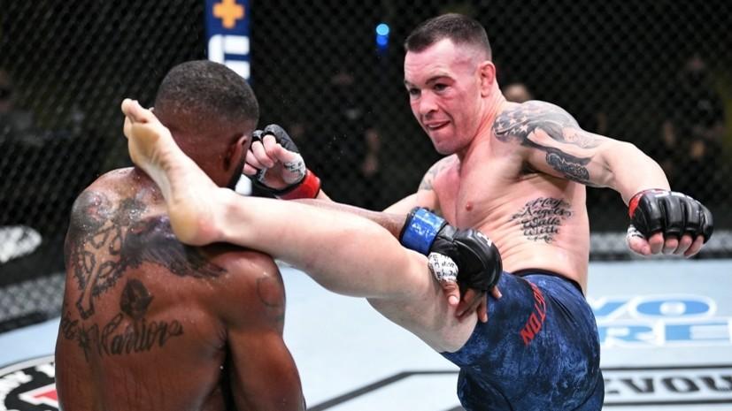 Победа Ковингтона, триумф Чимаева за 17 секунд и первая ничья Серроне: чем запомнился UFC Vegas 11