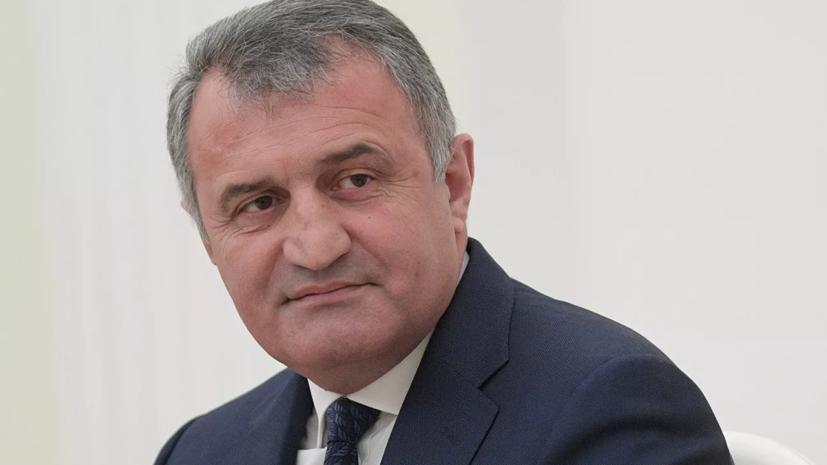 Бибилов заявил о важности союза Южной Осетии с Россией