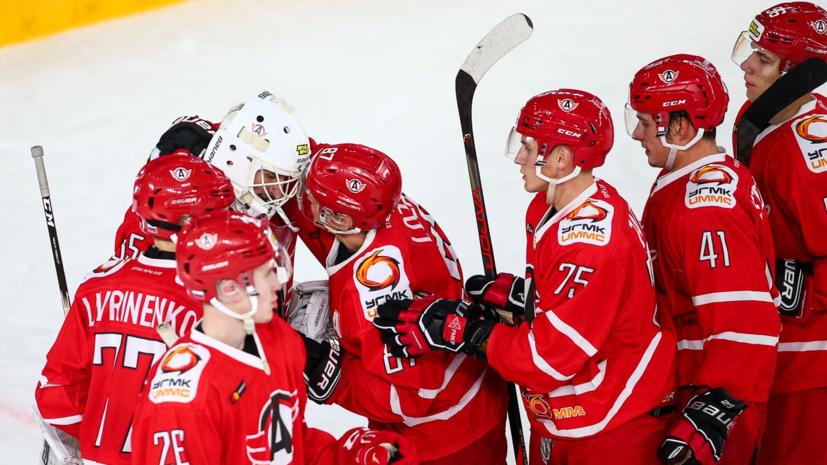 «Автомобилист» в овертайме обыграл «Аванград» в матче КХЛ