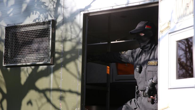 МВД Белоруссии сообщило о предупредительном выстреле в Бресте