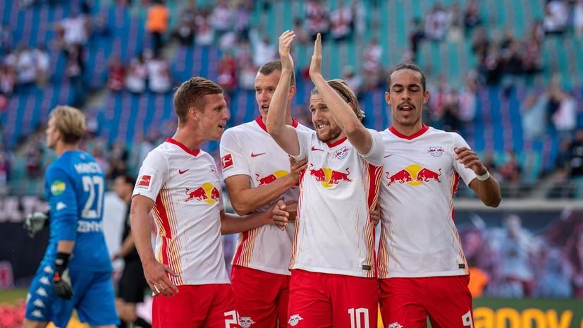 «Лейпицг» стартовал в новом сезоне Бундеслиги с победы над «Майнцем»