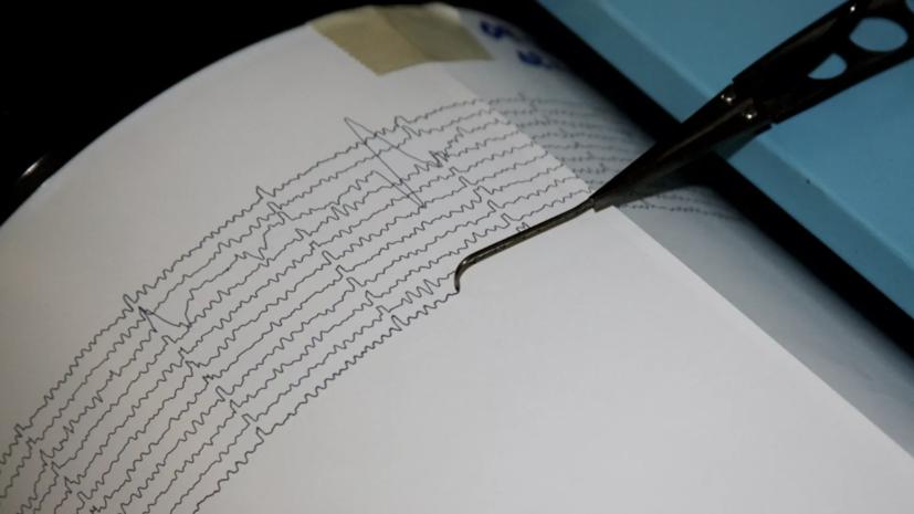 Землетрясение магнитудой 5,3 произошло в Турции