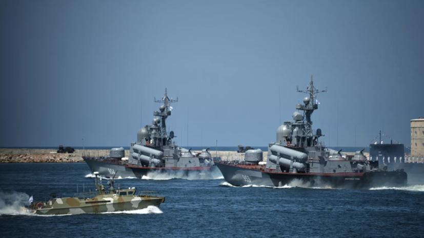 Морская пехота Каспийской флотилии совершила марш в районы сосредоточения в рамках учения «Кавказ-2020»