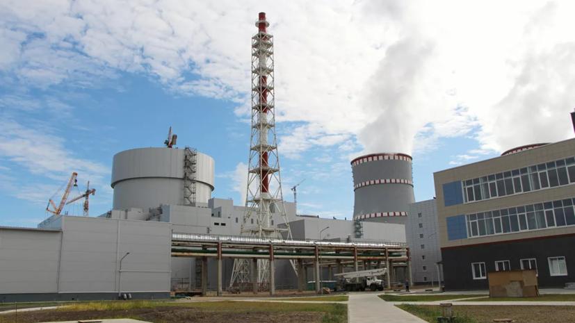 Новый блок Ленинградской АЭС-2 даст первую электроэнергию в октябре